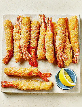 Jumbo Breaded Tiger Prawns (12 Pieces)