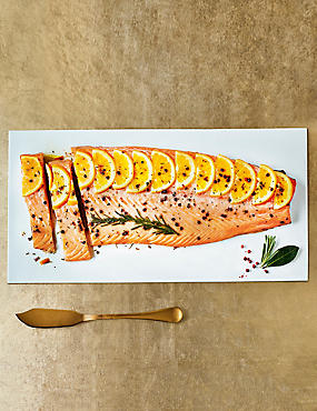 Whole Side of Scottish Lochmuir™ Salmon with Caramelised Oranges (Serves 8)