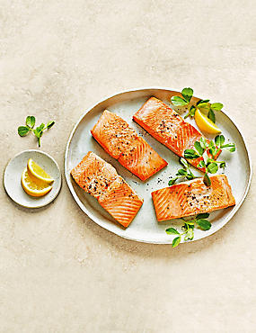 Wild Alaskan Salmon Fillets