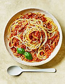 Made Without Wheat spaghetti Bolognese