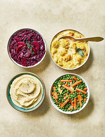 Vegetable Accompaniments - Last collection date 22nd April (Serves 8)