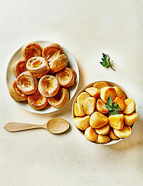 Roast Potatoes & Beef Dripping Yorkshire Puddings