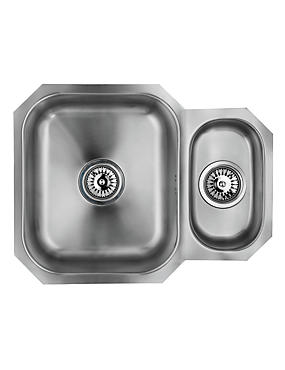 Stainless Steel 1½ Sink