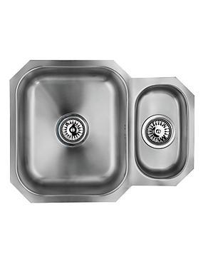 Stainless Steel 1½ Sink, , catlanding