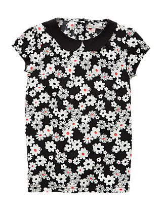 Floral Girls Blouse (5-14 Years) Clothing