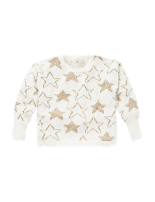 Star Eyelash Jumper (5-14 Years) Clothing