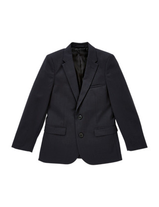 Tonal Checked Blazer (5-14 Years) Clothing