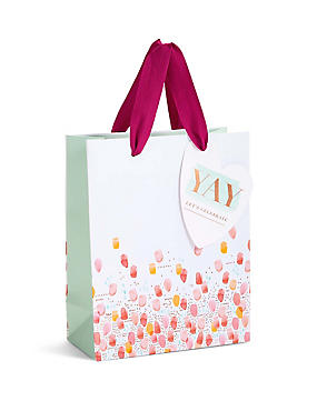 Let's Celebrate Watercolour Spot Small Gift Bag