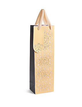 Laser Cut Bottle Bag