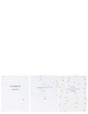 Special Wish Star Christmas Charity Cards Pack of 15, , catlanding