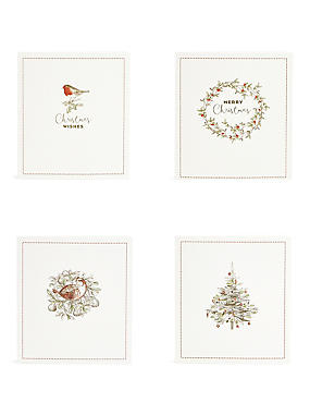 Traditional Icons Christmas Charity Cards Pack of 20