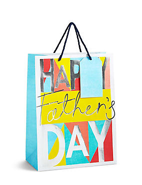 Father's Day Large Gift Bag