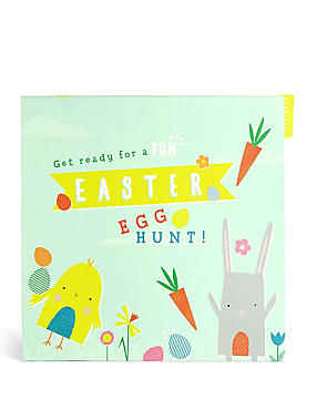 Easter Egg Hunt Activity Pack Card