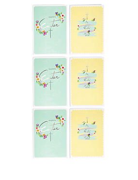 6 Easter Wish Multipack Cards