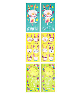 6 Fun Easter Multipack Cards, , catlanding