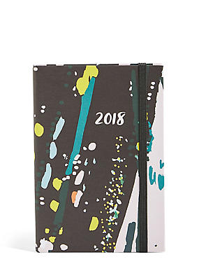 Small Abstract Pattern 2018 Diary
