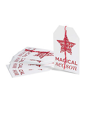Joyeux Noel 6 Magical Season Gift Tags