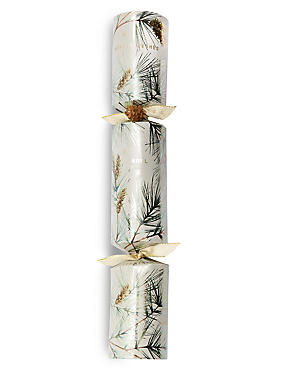 Spruce Winter Foliage Christmas Crackers