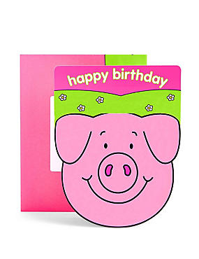 Percy Pig™ Activity Birthday Card