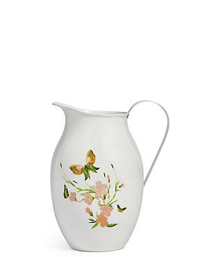 Garden Bloom Tin Jug, , catlanding