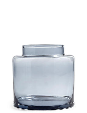Medium  Apothecary Vase, BLUE, catlanding