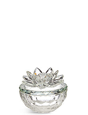 Cut Glass Trinket Box