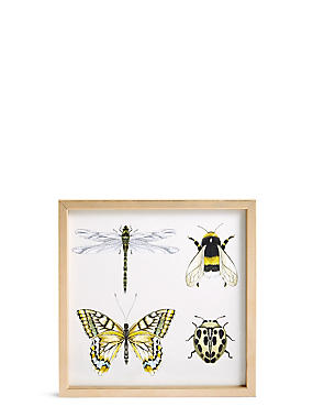 Multi Bug Wall Art