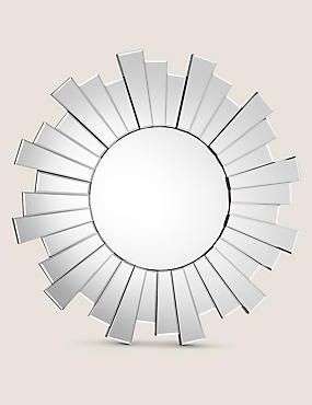 Circle Sunburst Mirror, , catlanding