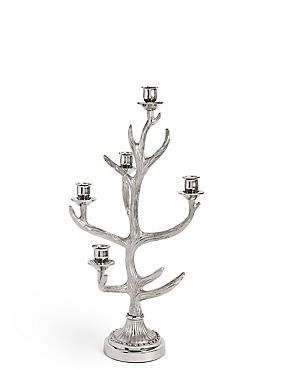 Standing Antler Dinner Candle Holder