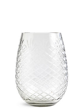 Ava Cut Glass Vase