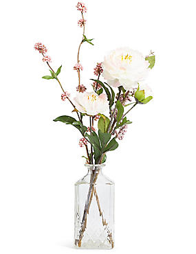 Blossom & Berry Arrangement in Vase