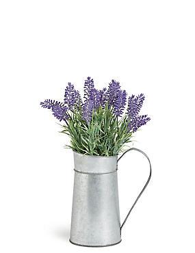 Lavender in Tin Jug, , catlanding