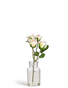 Rose Bunch in Bottle