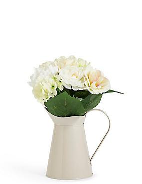 Small Bouquet in Tin Jug, , catlanding