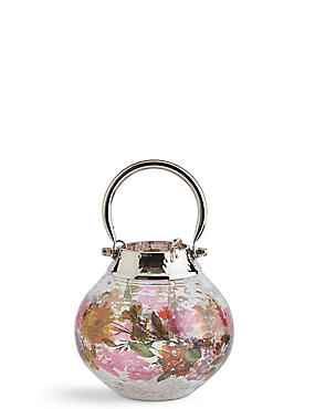 Bloom Extra Small Glass & Metal Lantern