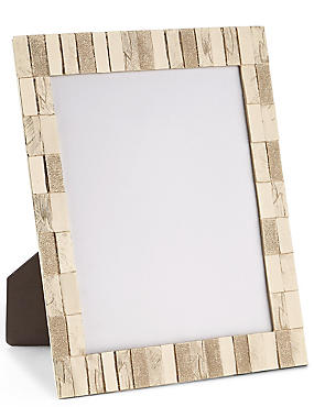 Brushed Tile Photo Frame 20 x 25cm (8 x 10inch)