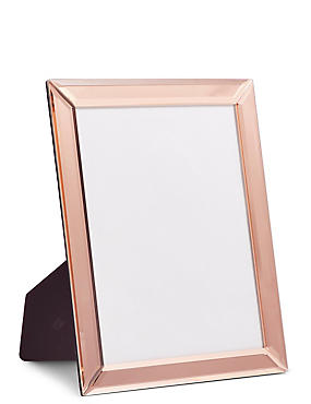 Mirrored Photo Frame 20 x 25cm (8 x 10inch), ROSE, catlanding