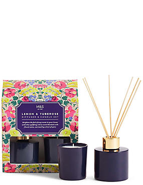 Lemon & Tuberose Gift Set