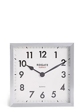 Square Wall Clock, , catlanding