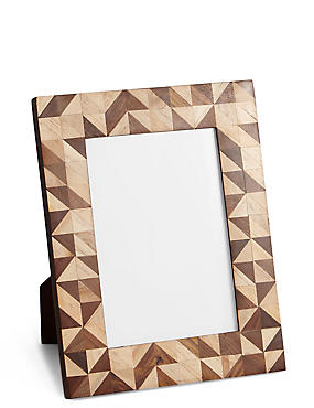 Conran Inlay Photo Frame 13 x 18cm (5 x 7inch)
