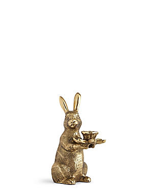 Bunny Dinner Candle Holder