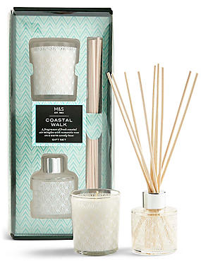 Coastal Walk Diffuser & Candle Gift Set