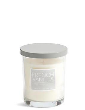 Vanilla Bean Large Lidded Scented Candle