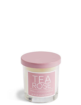 Rose Small Lidded Candle