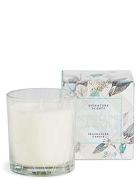 Neroli, Lime & Basil Boxed Candle