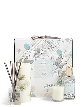 Neroli, Lime & Basil Ultimate Gift Set