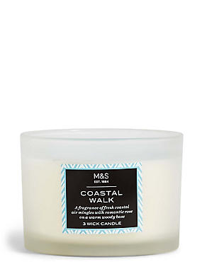 Coastal Walk 3 Wick Candle