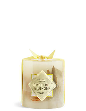 Grapefruit & Ginger Small Inclusion Candle