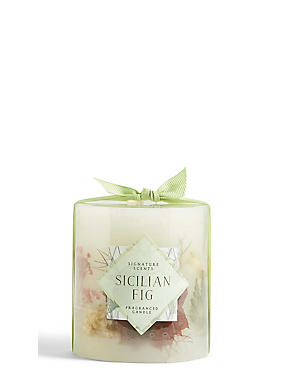 Sicilian Fig Boxed Small Inclusion Candle