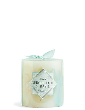 Neroli, Lime & Basil Small Inclusion Candle